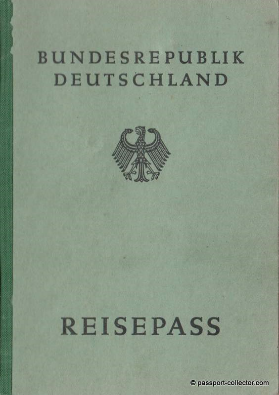 The Evolution Of The Federal German Passport Within 67 Years