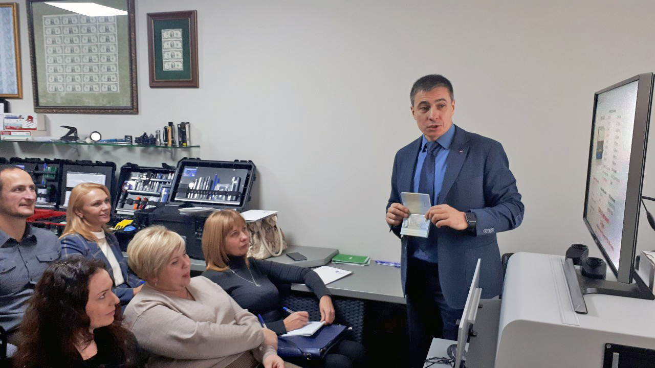 Regula presented expert solutions in Kyiv, Ukraine