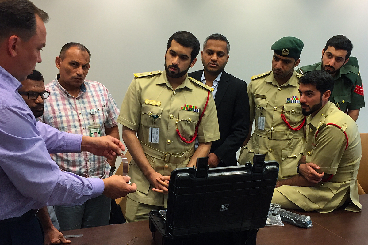 Specialized training held for Dubai Police