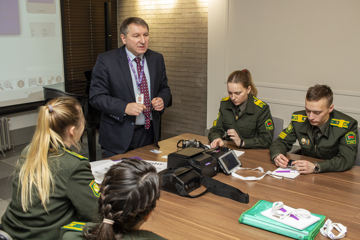 Cadets of Border Guard Service Institute of Belarus visit Regula office in Minsk