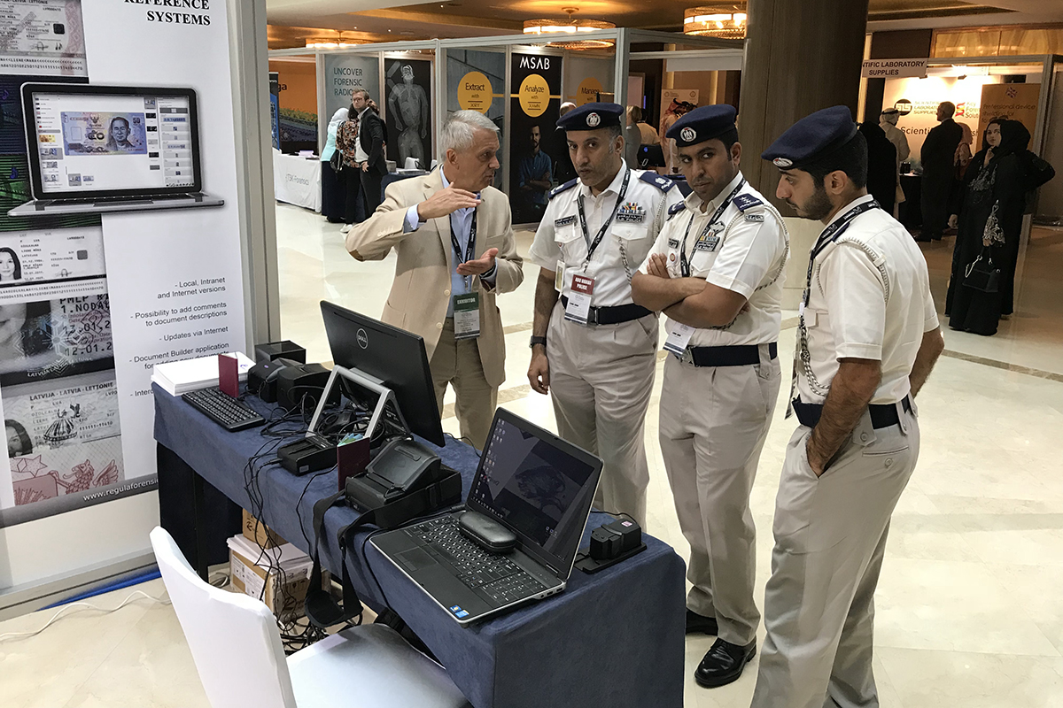 Regula is taking part in GCC Forensics Exhibition and Conference, held in Abu Dhabi, UAE on October 30-31, 2018